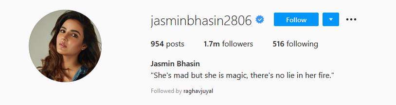 Jashmin Bhasin