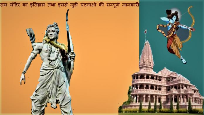 राम मंदिर का इतिहास