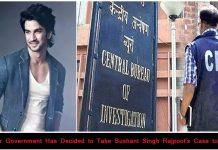 Sushant Singh Rajpoot's Case