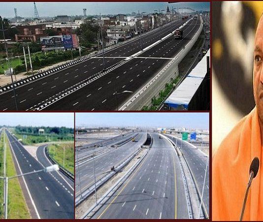गोरखपुर सिक्स लेन सड़क निर्माण
