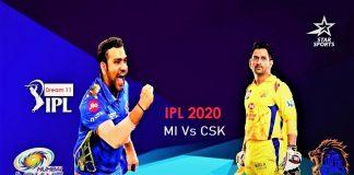 IPL 2020 CSK MI