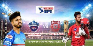 IPL 2020 DC KXIP
