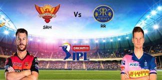 IPL 2020 SRH Vs RR