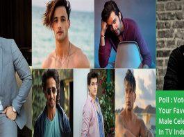 Poll Best Male TV Celebrity 2021