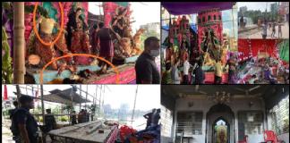 Bangladesh Durga Puja Pandal